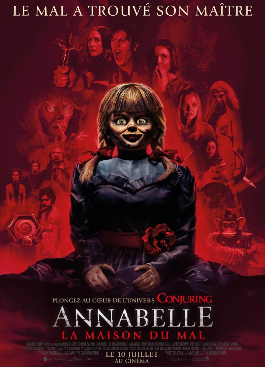 Annabelle Comes Home แอนนาเบลล์: ตุ๊กตาผีกลับบ้าน   รีวิวหนังผี